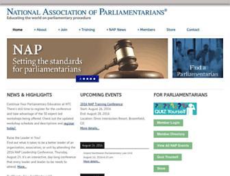 Thumbshot of Parliamentarians.org