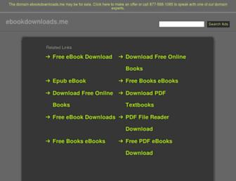 ebookdownloads.me screenshot