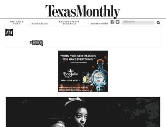 texasmonthly.com screenshot