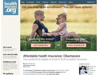 Thumbshot of Healthinsurance.org