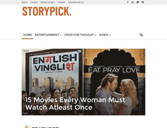 storypick.com screenshot