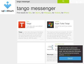 tango-messenger.en.uptodown.com screenshot