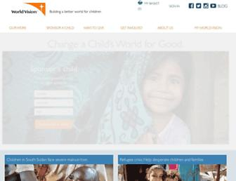 Thumbshot of Worldvision.org