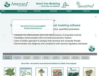amenaza.com screenshot