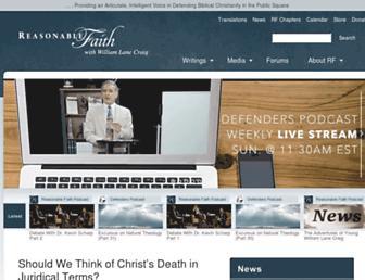 Thumbshot of Reasonablefaith.org