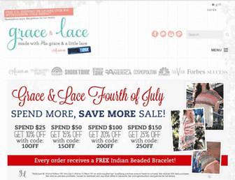 Thumbshot of Graceandlace.com