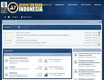 forum.juventusclubindonesia.com screenshot