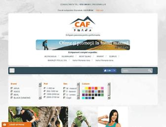 caf-equipment.ro screenshot