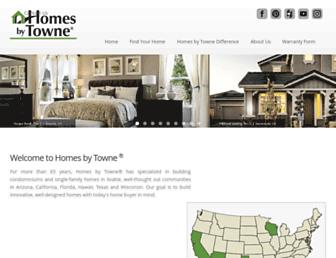 homesbytowne.com screenshot