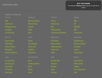infolizer.com screenshot