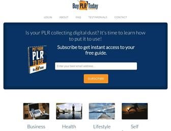 Thumbshot of Buyplrtoday.com