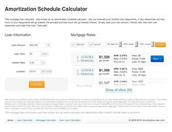 amortization-calc.com screenshot