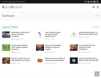 solvemethod.com screenshot