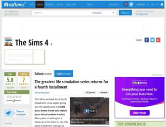 the-sims-4.en.softonic.com screenshot