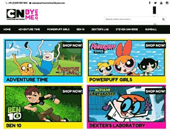 cartoonnetworkbyme.com screenshot