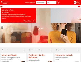 Main page screenshot of sska.de