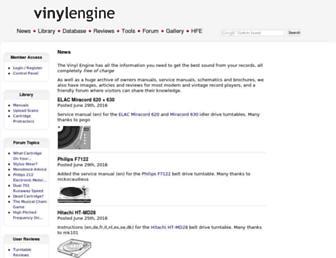 Thumbshot of Vinylengine.com