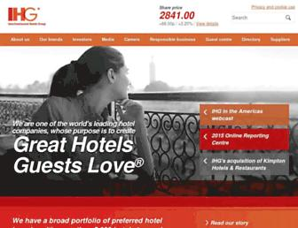 ihgplc.com screenshot