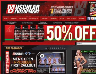 Thumbshot of Musculardevelopment.com