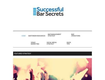 successfulbarsecrets.com screenshot