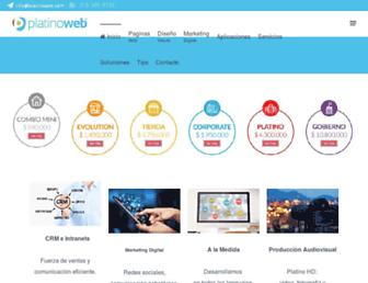 platinoweb.com screenshot
