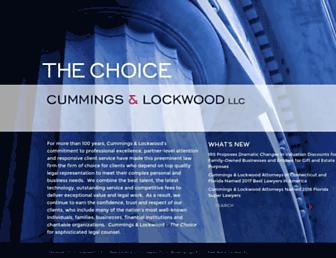 cl-law.com screenshot