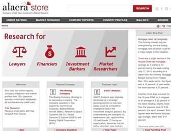 Thumbshot of Alacrastore.com