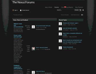 forums.nexusmods.com screenshot
