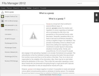 fifamanager2012.blogspot.com screenshot