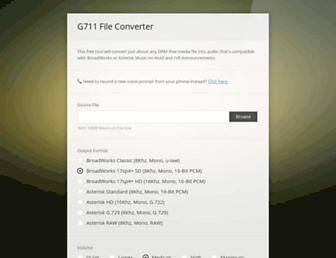 g711.org screenshot