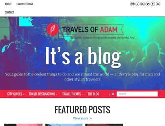 Thumbshot of Travelsofadam.com