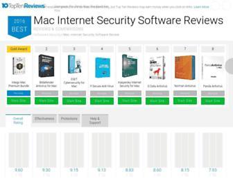mac-internet-security-software-review.toptenreviews.com screenshot