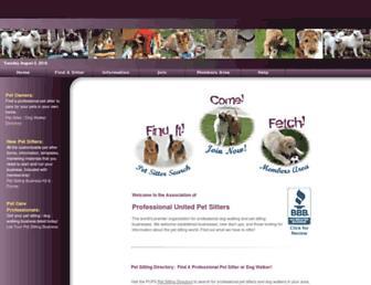 petsits.com screenshot