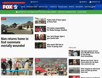 Thumbshot of Fox5sandiego.com
