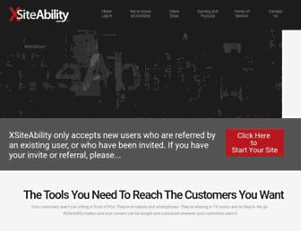 Thumbshot of Xsiteability.com