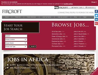 Thumbshot of Fircroft.com