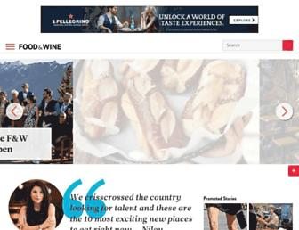 Thumbshot of Foodandwine.com