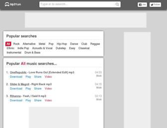 mp3yum.ch screenshot