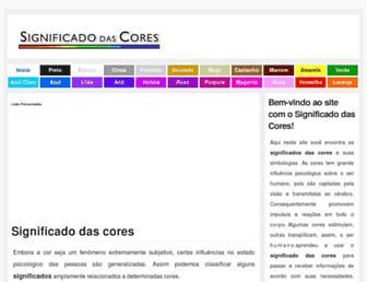 Thumbshot of Significadodascores.com.br