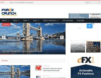 forexcrunch.com screenshot