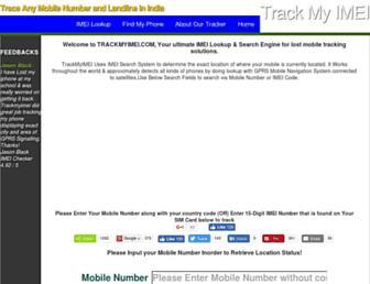 trackmyimei.com screenshot