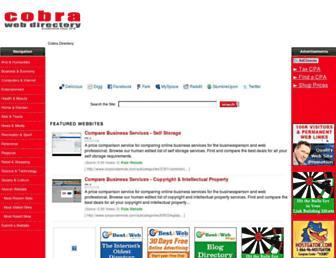 Thumbshot of Cobradirectory.com