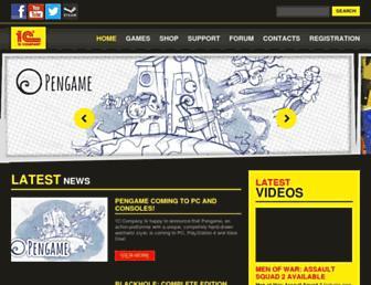 Main page screenshot of 1cpublishing.eu