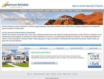americanreliable.com screenshot
