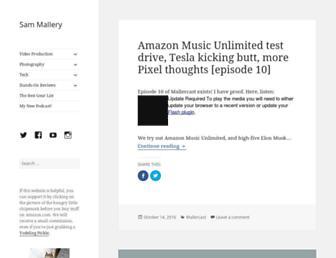 sam-mallery.com screenshot