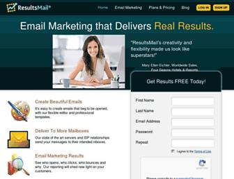 Thumbshot of Resultsmail.com