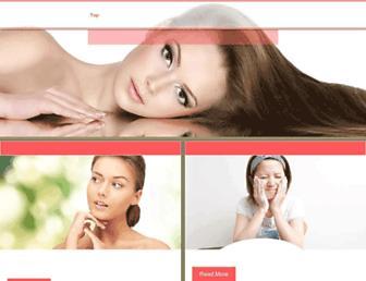 Main page screenshot of danceheads.biz