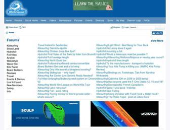 Thumbshot of Kiteforum.com