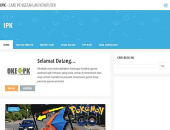 ilmupengetahuan-komputer.blogspot.com screenshot