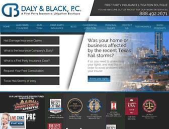 dalyblack.com screenshot
